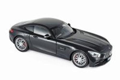 2018 Mercedes-Benz AMG GT S Hard Top, Black Metallic - Norev 183497 - 1/18 scale Diecast Model Toy Car
