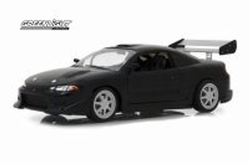 1995 Mitsubishi Eclipse, Black - Greenlight 19040 - 1/18 Scale Diecast Model Toy Car