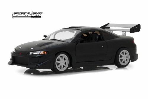 1995 Mitsubishi Eclipse, Black - Greenlight 19040 - 1/18 Scale Diecast Model Toy Car