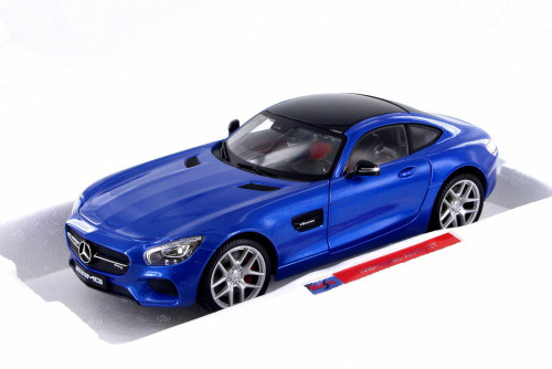 Mercedes-Benz AMG GT, Blue - Maisto 38131BL - 1/18 Scale Diecast Model Toy Car