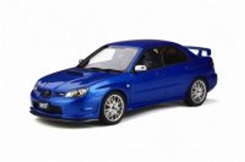 2006 Subaru Impreza STI S204 Hardtop, Blue - Otto Mobile OT322 - 1/18 scale Diecast Model Toy Car