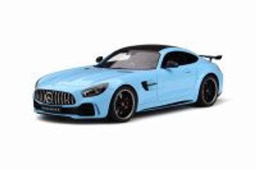 2019 Mercedes-Benz AMG GT-R, Light Blue - GT Spirit GT787 - 1/18 scale Resin Model Toy Car