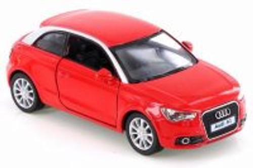 2010 Audi A1, Red - Kinsmart KT5350D - 1/32 Scale Diecast Model Toy Car