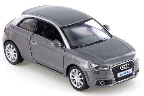 2010 Audi A1, Gray - Kinsmart KT5350D - 1/32 Scale Diecast Model Toy Car