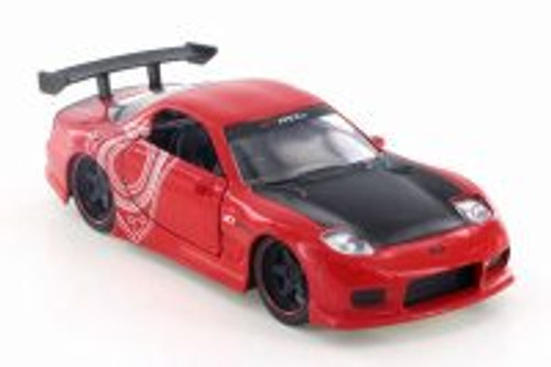 1993  Mazda RX-7 Hard Top, Red - Jada 98563 - 1/32 Scale Diecast Model Toy Car