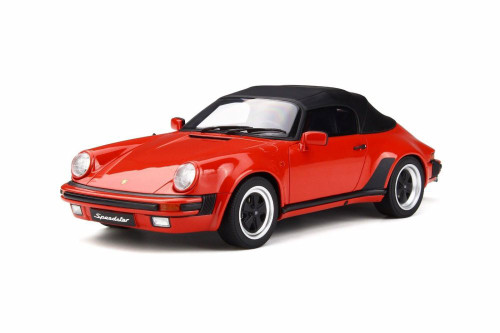 Porsche 911 3.2 Speedster, Red - GT Spirit GT130 - 1/18 scale Resin Model Toy Car