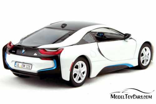 2018 BMW i8 Coupe Hardtop, White - Showcasts 79359WT - 1/24 scale Diecast Model Toy Car