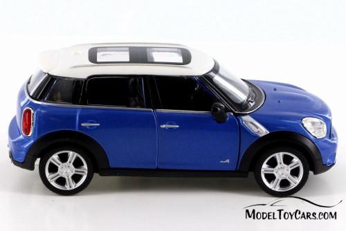 Mini Cooper S Countryman, Blue - RMZ City 555001 - Diecast Model Toy Car