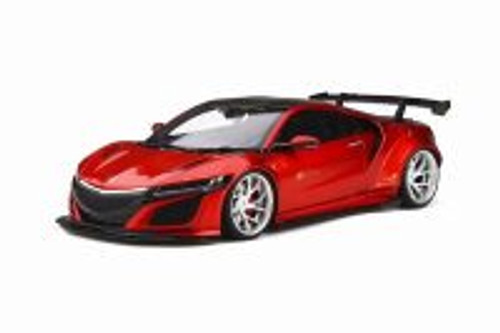 2018 Honda NSX Customized car by LB-Works, Red - GT Spirit GT245 - 1/18 scale Resin Model Toy Car