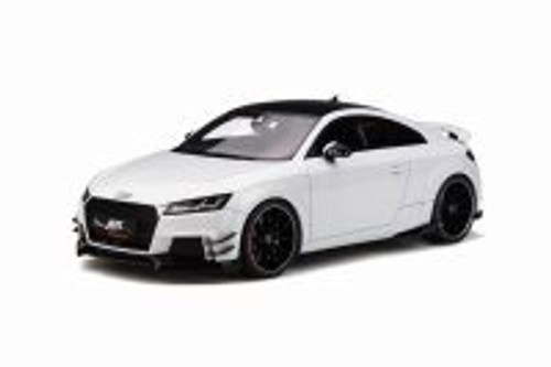 2017 Audi ABT TT RS-R Hard Top, Glacier White Metallic - GT Spirit GT211 - 1/18 scale Resin Model Toy Car