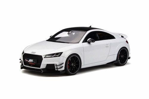 2017 Audi ABT TT RS-R Hard Top, Glacier White Metallic - GT Spirit GT211 - 1/18 scale Resin Model Toy Car