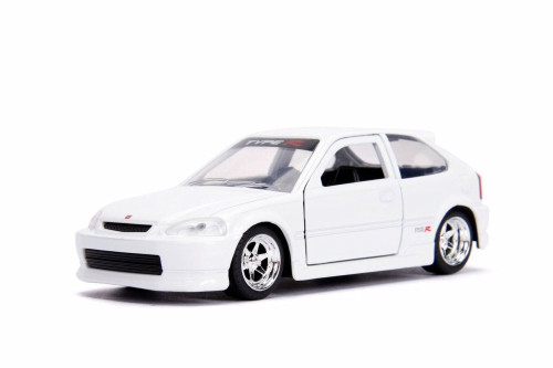 1997 Honda Civic Type-R, White - Jada 30487WA1 - 1/32 Scale Diecast Model Toy Car