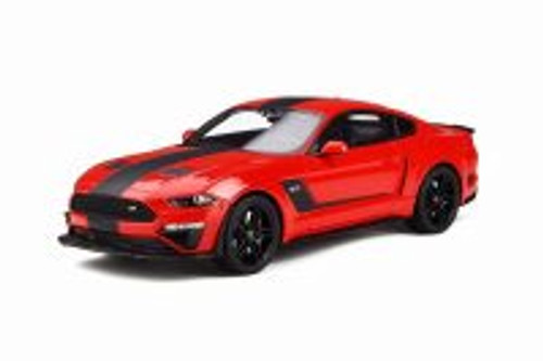 2019 Ford Mustang Roush Stage 3 Hardtop, Red - GT Spirit GT260 - 1/18 scale Resin Model Toy Car