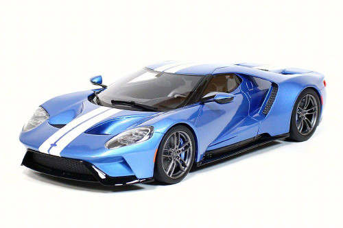 2017 Ford GT Hard Top, Blue - GT Spirit ZM101 - 1/18 scale Resin Model Toy Car