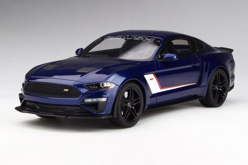 Ford Mustang Roush Stage 3 Hardtop, Blue - GT Spirit US020 - 1/18 scale Resin Model Toy Car