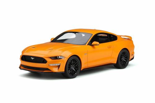 2019 Ford GT Hard Top, Orange Fury - GT Spirit GT205 - 1/18 Scale Resin Model Toy Car