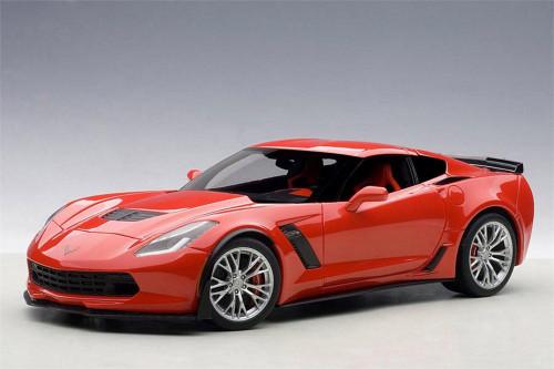 Chevy Corvette C7 Z06, Torch Red - AUTOart 71262 - 1/18 scale Diecast Model Toy Car