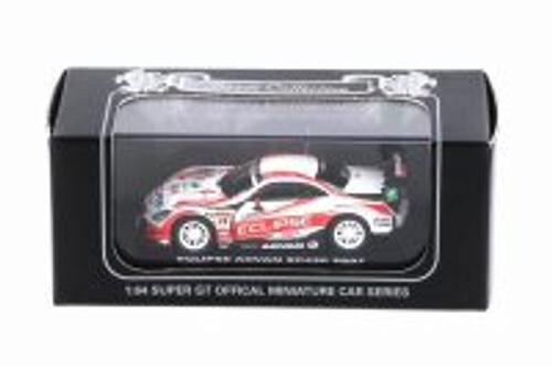 2007 Lexus Super GT, Eclipse Advan SC430 - Kyosho K06571D - 1/64 scale Resin Model Toy Car