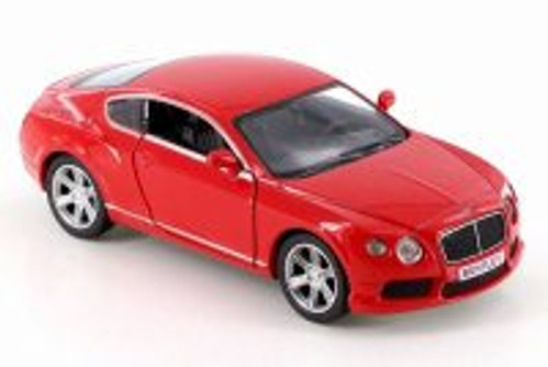 Bentley Contenental GT V8, Red - RMZ City 555021 - Diecast Model Toy Car