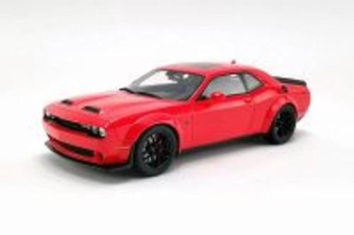 Dodge Challenger SRT Hellcat Redeye Widebody, Red - GT Spirit US019 - 1/18 scale Resin Model Toy Car