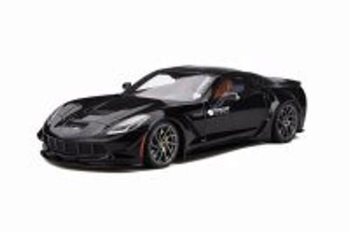 Chevy Corvette C7 Prior Design Hardtop, Black - GT Spirit GT249 - 1/18 scale Resin Model Toy Car