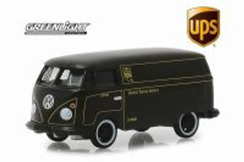 Volkswagen Panel Van, United Postal Service (UPS) - Greenlight 30020/48 - 1/64 Scale Diecast Model Toy Car