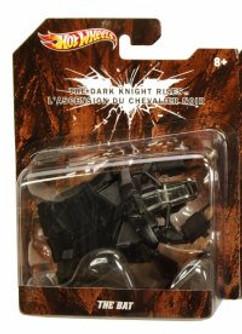 The Bat, Black - Mattel Hot Wheels Batman X3078 - 1/50 Scale Diecast Model Car