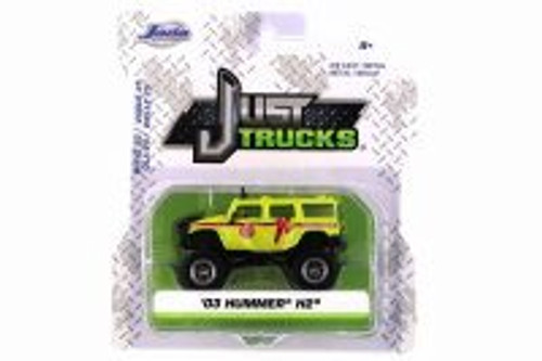 2003 Hummer H2, Los Angeles Fire Department (LAFD) Search and Rescue - Jada 14020-W25 - 1/64 scale Diecast Model Toy Car