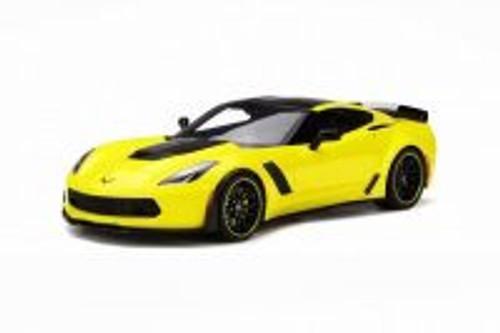 2016 Chevy Corvette Z06 CR-7 Hard Top, Yellow - GT Spirit GT171 - 1/18 scale Resin Model Toy Car