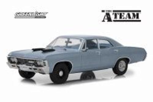 1967 Chevy Impala Sedan Hard Top, The A-Team - Greenlight 19047 - 1/18 scale Diecast Model Toy Car