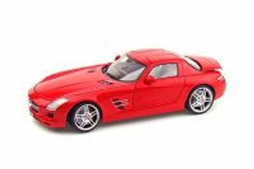 Mercedes-Benz SLS AMG, Red - Mondomotors MO50106 - 1/18 Scale Diecast Model Toy Car