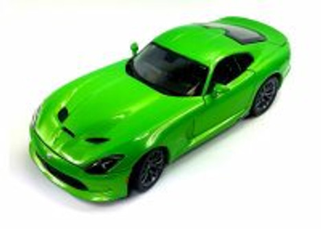 2013 Dodge SRT Viper GTS, Green - Maisto Special Edition 31128GN - 1/18 scale diecast model car