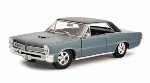 1965 Pontiac GTO HURST, Blue - Maisto 31885 - 1/18 Scale Diecast Model Toy Car