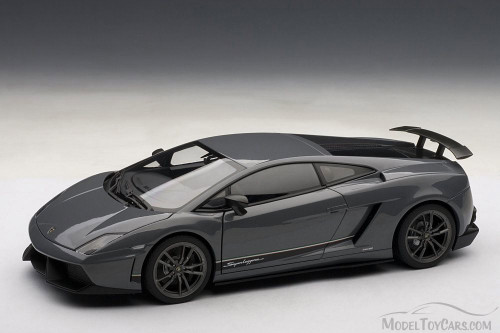 Lamborghini Gallardo LP570, Gunmetal Gray - Auto Art 74657 - 1/18 Scale Diecast Model Toy Car