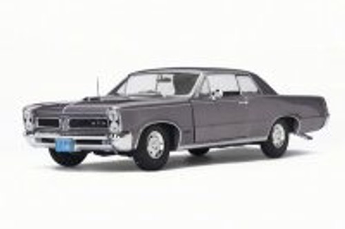 1965 Pontiac GTO, Iris Mist Purple - Sun Star 1845 - 1/18 Scale Diecast Model Toy Car