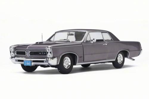 1965 Pontiac GTO, Iris Mist Purple - Sun Star 1845 - 1/18 Scale Diecast Model Toy Car