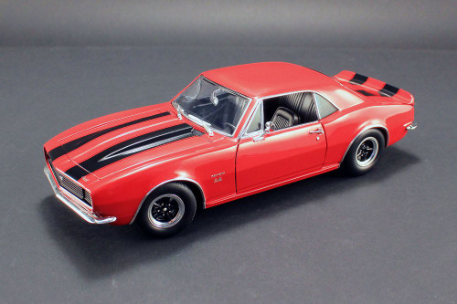 1967 Chevy Camaro 427, Red w/ Black - Acme 1805711 - 1/18 Scale Diecast Model Toy Car