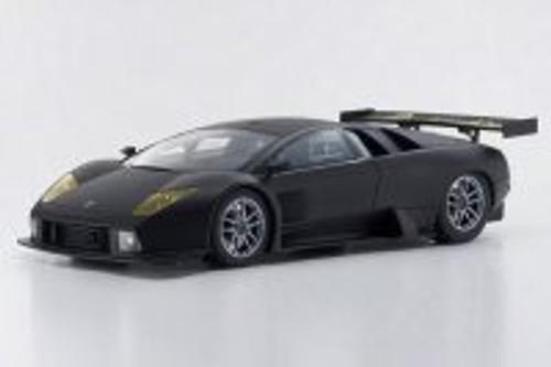 Lamborghini Murcielago R-GT, Matte Black - Kyosho KSR18505BK - 1/18 Scale Resin Model Toy Car