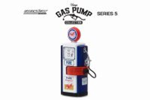 "1948 Wayne 100-A ""Pure Firebird: Racing Fuel"" Gas Pump, Blue - Greenlight 14050B - 1/18 Scale Diecast Accessory"