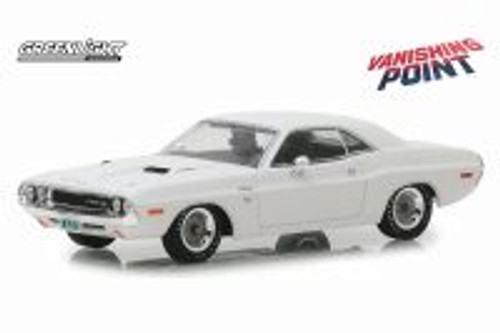 1970 Dodge Challenger R/T, Vanishing Point - Greenlight 86545 - 1/43 Scale Diecast Model Toy Car