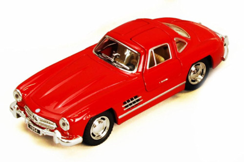 1954 Mercedes-Benz 300SL, Red - Kinsmart 5346D - 1/36 scale Diecast Model Toy Car (Brand New, but NOT IN BOX)