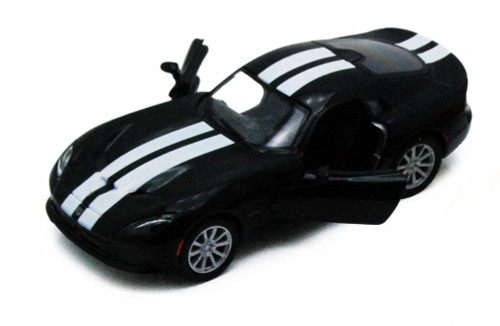 2013 Dodge SRT Viper GTS, Black - Kinsmart 5363DF- 1/36 scale Diecast Model Toy Car (Brand New, but NOT IN BOX)