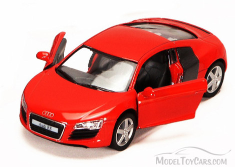 Audi R8, Red - Kinsmart 5315D - 1/36 scale Diecast Model Toy Car (Brand New, but NOT IN BOX)