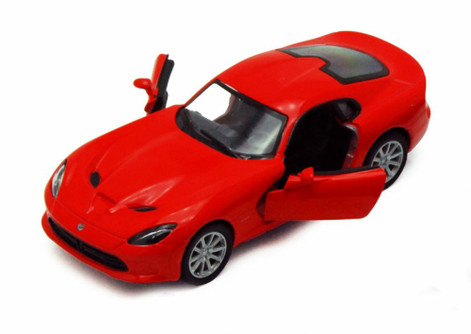 2013 Dodge SRT Viper GTS, Red - Kinsmart 5363D - 1/36 scale Diecast Model Toy Car (Brand New, but NOT IN BOX)