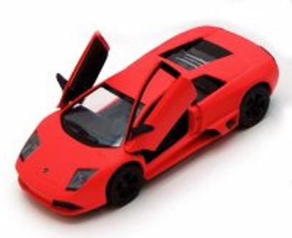 Lamborghini Murcielago LP640, Orange - Kinsmart 5370D - 1/36 scale Diecast Model Toy Car