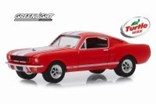 1965 Shelby GT350, Turtle Wax - Greenlight 30072/48 - 1/64 scale Diecast Model Toy Car