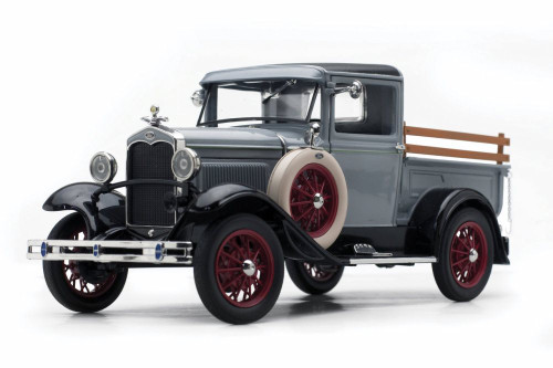 1931 Ford Model A Pickup, French Gray - Sun Star 6115GY - 1/18 scale Diecast Model Toy Car