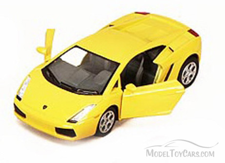 Lamborghini Gallardo Sports Car, Yellow - Kinsmart 5098D - 1/32 scale Diecast Model Toy Car (Brand New, but NOT IN BOX)