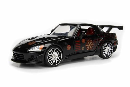 2000 Honda S2000 (Johnny Tran), Fast & Furious - Jada 99557 - 1/24 Scale Diecast Model Toy Car