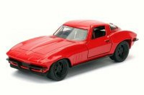 Letty's Chevrolet Corvette F8 Fate of Furious, Red - Jada 98306 - 1/32 Scale Diecast Model Toy Car